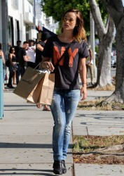 Olivia Wilde - out in LA 6/1/13