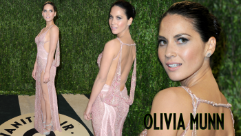 "Olivia Munn ""Vanity Fair Oscar Party"" Widescreen Wallpaper"