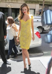 Miranda Kerr - The Gillette Venus Step Up & Step Out Summer Tour Kick Off in NYC 6/4/13