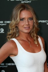 Daniela Hantuchova - Porsche Design Sport Mountain Loft in Munich 6/6/13