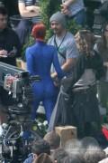Jennifer Lawrence as Mystique on set (tagged) Jene 4th, 2013