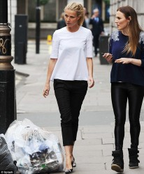 Gwyneth Paltrow - out in London 6/10/13