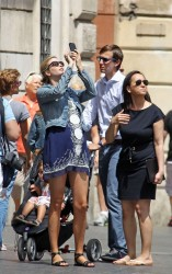 Ivanka Trump - Sightseeing in Rome 6/11/13