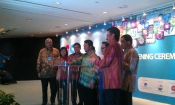 Menkominfo Tifatul Sembiring membuka acara ICS 2013