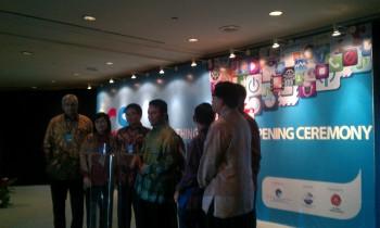Menkominfo Tifatul Sembiring di ICS 2013