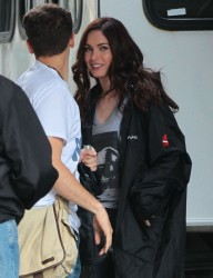 Megan Fox - on the set of 'TMNT' in NYC 6/14/13
