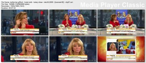 KATHIE LEE GIFFORD cleavage - today show - December 24, 2009