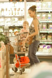 Jessica Alba - at Whole Foods in Beverly Hills 6/16/13