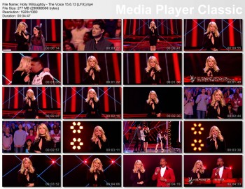 Holly Willoughby - The Voice