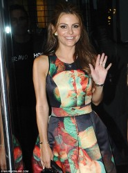 Maria Menounos - at her birthday party in Greece 6/16/13