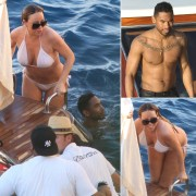 Mariah Carey Wearing a Bikini in Capri, Italy - June 17, 2013