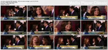 RACHEL RAY cleavage - hln red carpet coverage - June 16, 2013