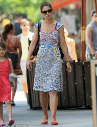 Katie Holmes - out in NYC 6/23/13