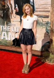 32126a262014372 Dove Cameron   The Lone Ranger Premiere at Disneyland   Anaheim   June 22, 2013 candids