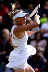 Caroline Wozniacki - Wimbledon 2013 Day 1 in London 6/24/13