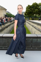 Leelee Sobieski - Christian Dior fashion show in Paris 7/1/13