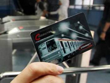 Tiket elektronik KRL - Ist.