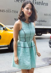 Olivia Munn - out in NYC 7/8/13