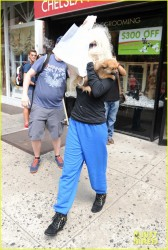 Amanda Bynes - Out in NYC 7/10/13