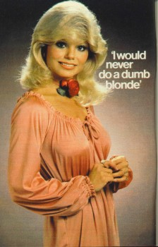 Loni Anderson: Sexy Pic With Funny Quote/Caption MQ x 1