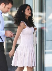 Salma Hayek - Out in Beverly Hills 7/15/13
