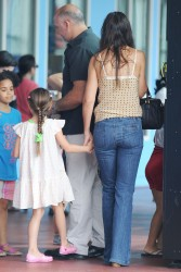 Katie Holmes - at Chelsea Piers in NYC 7/15/13
