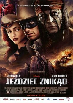 Przód ulotki filmu 'Jeździec Znikąd'