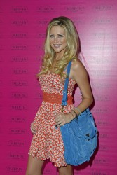 Stephanie Pratt - Sleep-In Rollers event in London 7/23/13