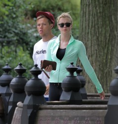 Ireland Baldwin - out jogging in NYC 7/23/13