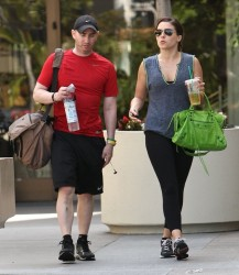 Sophia Bush - leaves the gym in LA 7/25/13