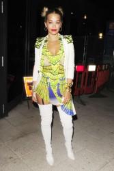 Rita Ora - At Le Baron Nightclub in London 7/25/13