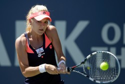 Agnieszka Radwanska - Bank of the West Classic Day 7 in Stanford 7/28/13