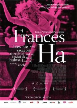 Przód ulotki filmu 'Frances Ha'