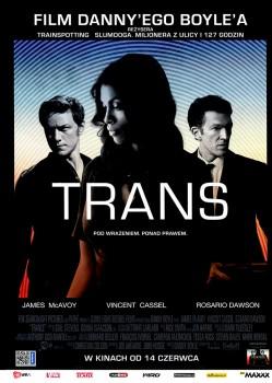 Przód ulotki filmu 'Trans'