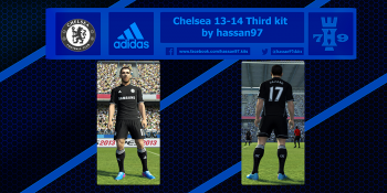download pes 2013 Chelsea 13-14 Third kit by hassan97