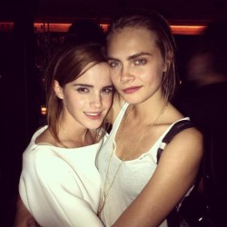 Emma Watson at Karlie Kloss's 21st Birthday Party in New York City on August 1, 2013