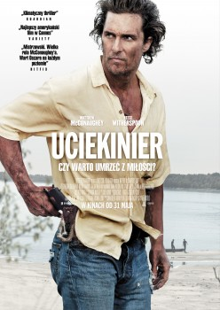 Polski plakat filmu 'Ucieknier'