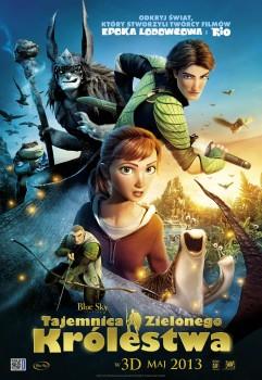 Polski plakat filmu 'Tajemnica Zielonego Królestwa'
