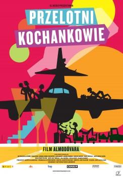 Polski plakat filmu 'Przelotni Kochankowie'