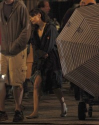 Zooey Deschanel - on the set of 'New Girl' in LA 8/8/13