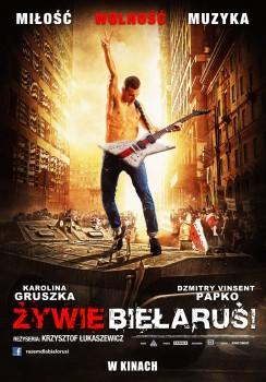 Polski plakat filmu 'Żywie Biełaruś!'
