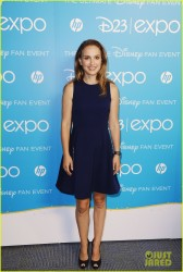 Natalie Portman - 'Thor: The Dark World' panel 2013 Disney D23 Expo in Anaheim 8/10/13