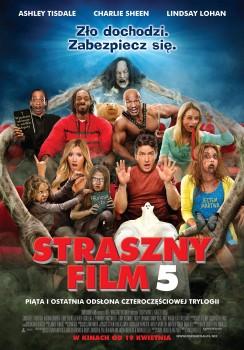 Polski plakat filmu 'Straszny Film 5'