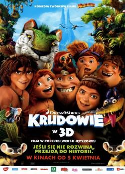 Przód ulotki filmu 'Krudowie'