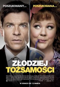 Polski plakat filmu 'Złodziej Tożsamości'