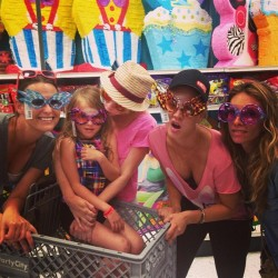 Kaley Cuoco at Party City With Her Friends - August 12, 2013