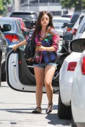Lucy Hale is Leggy in Shorts in Studio City - August 11, 2013