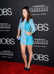 Alexis Knapp - At the 'Jobs' Premiere in Los Angeles 8/13/13