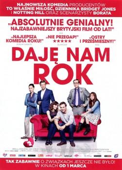 Przód ulotki filmu 'Daję Nam Rok'