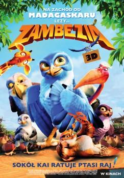 Polski plakat filmu 'Zambezia'